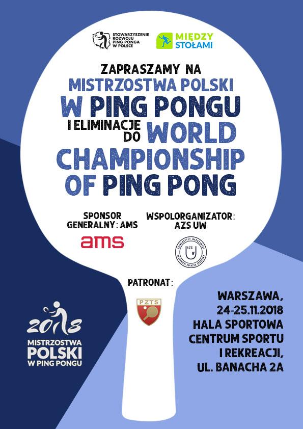 Mistrzostwa Polski w Ping Pongu (Warszawa, 24-25 listopada