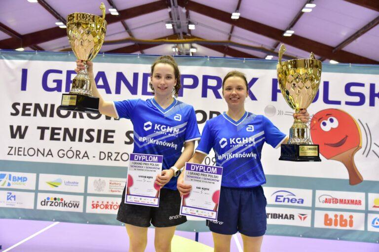 Samuel Kulczycki i Anna Węgrzyn wygrali 1. GPP Seniorów