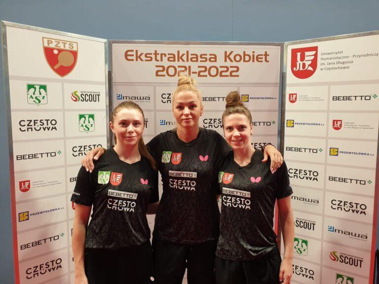 Ekstraklasa kobiet: Bardzo udany początek sezonu Bebetto AZS UJD Częstochowa